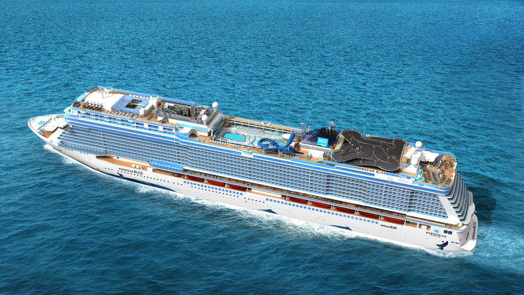 Norwegian Bliss unveils new features