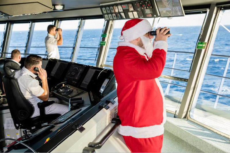 Santa Claus Spotted Aboard Tui Ships Cruise Industry