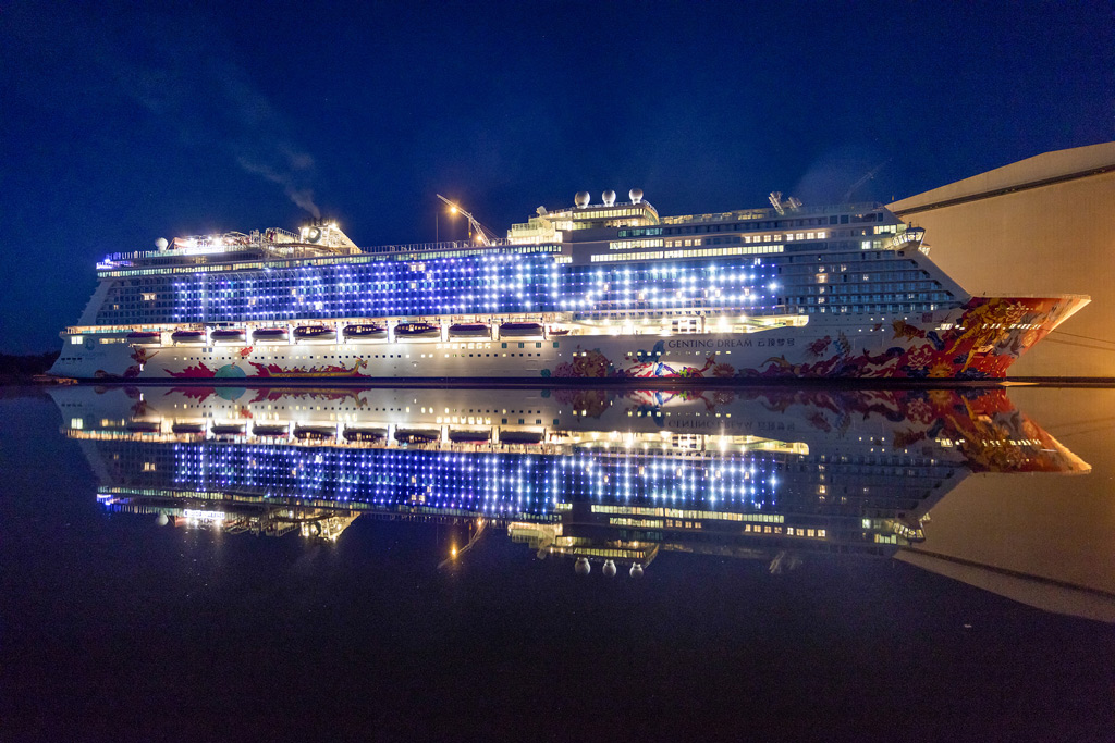 Genting dream to move to marina bay cruise industry news for Round the world cruise 2016
