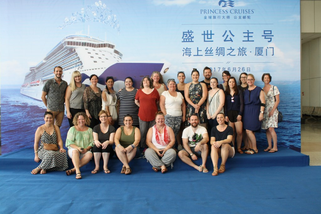 Majestic Princess Hosts Australian Travel Agents - Cruise Industry