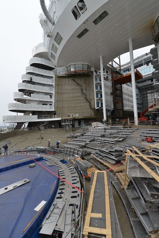 Developments in the cruise industry