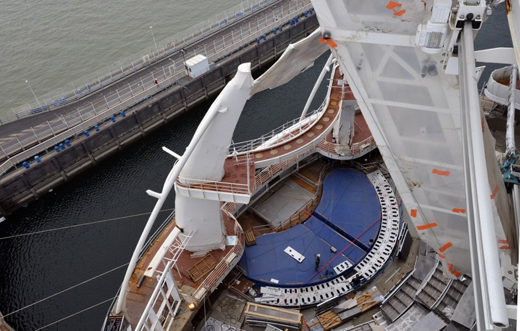 Symphony Of The Seas Construction Update Cruise Industry