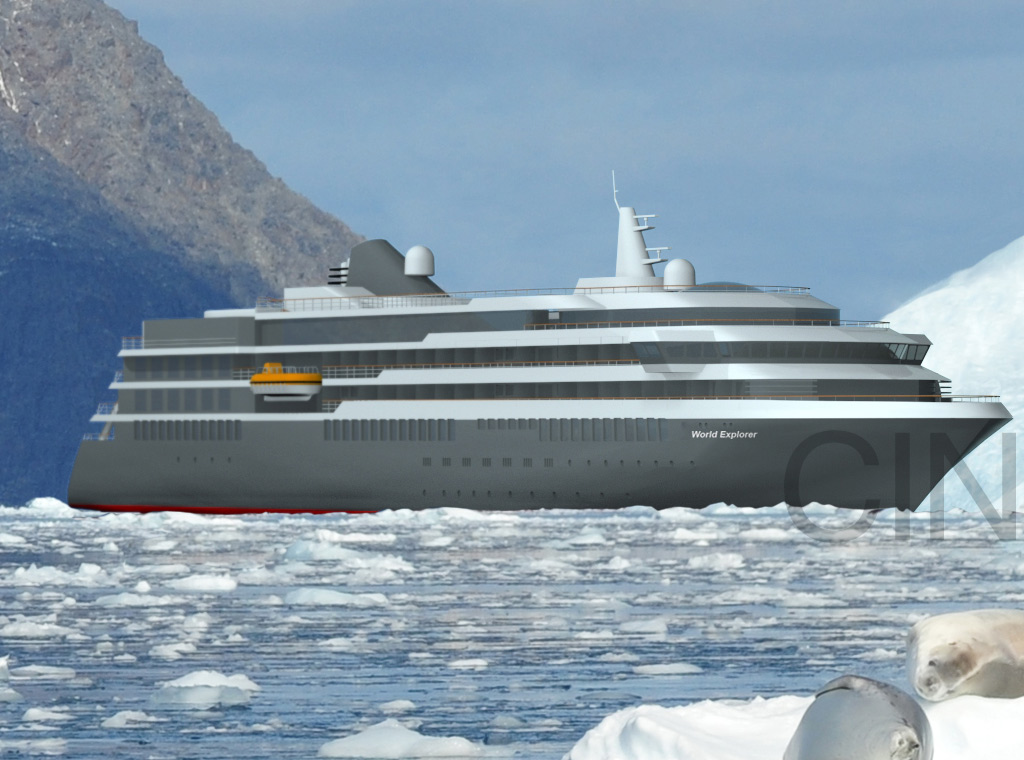 Major Expedition Newbuilding Program Underway In Portugal Cruise - First cruise ship in the world