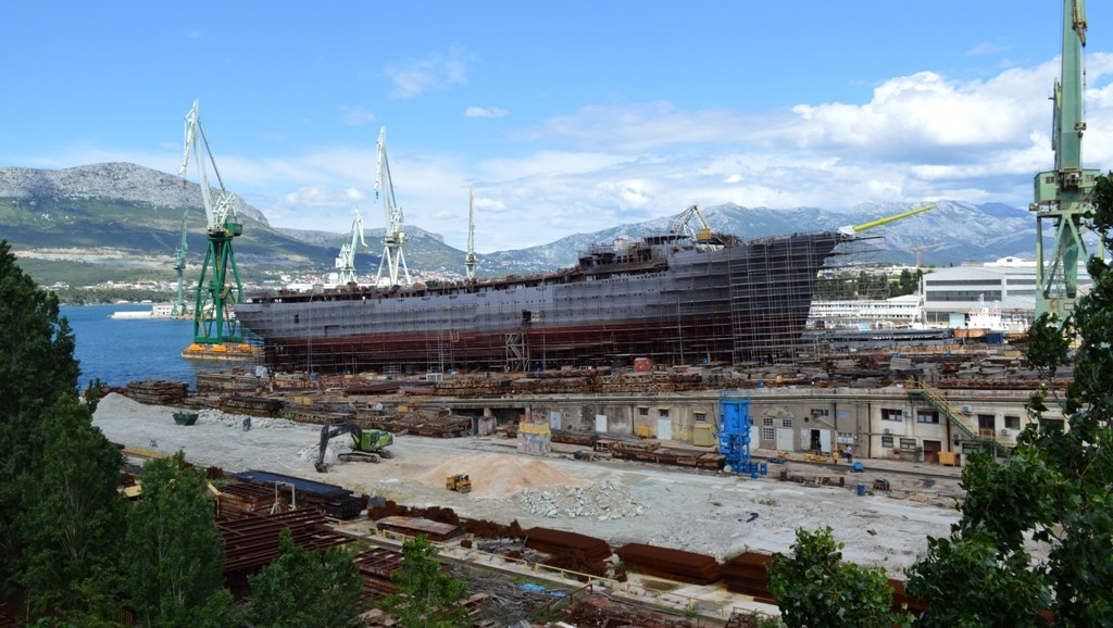 Flying Clipper To Launch At Brodosplit Cruise Industry News - Flying cruise ship