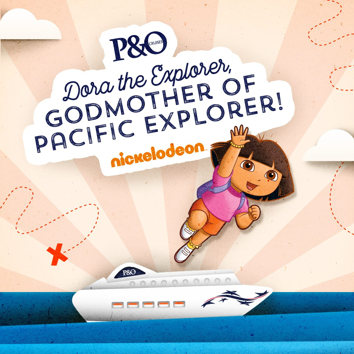 Dora The Explorer Named Godmother For Pacific Explorer