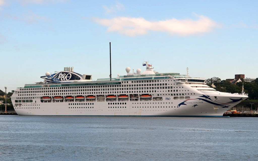 Pacific Explorer Arrives in Sydney - Cruise Industry News | Cruise News