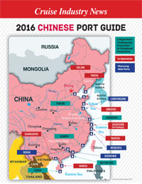 2016 Chinese Port Map