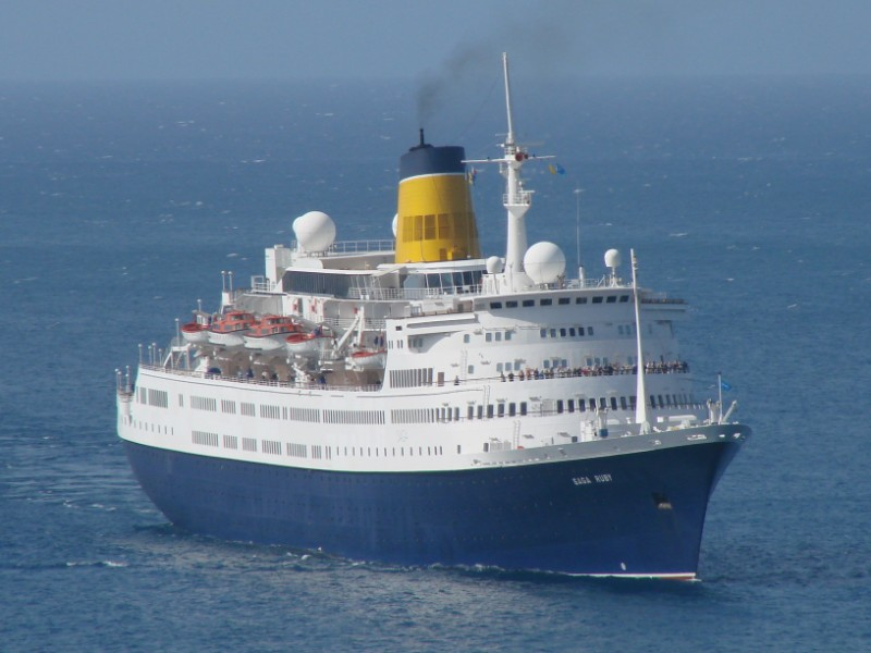 Saga Ruby To Be Scrapped In India Cruise Industry News Cruise News