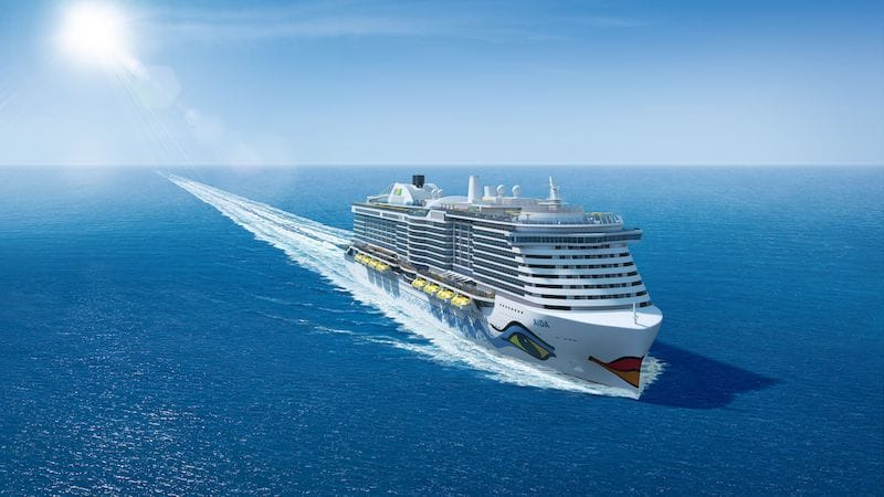 New AIDA Ship Rendering