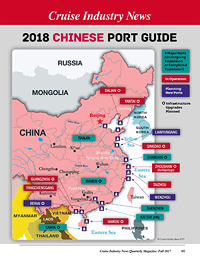 2018 Map Guide to Chinese Cruise Ports
