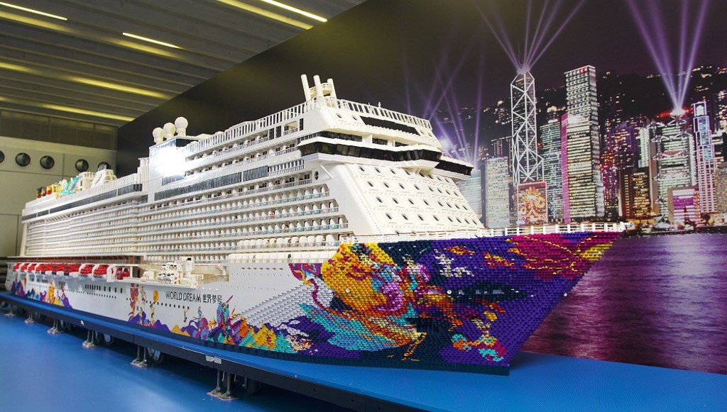 World Dream Set For FirstEver Hong Kong Christening Cruise - First cruise ship in the world