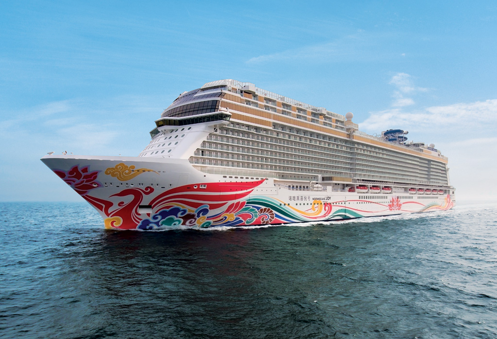 Norwegian Joy Offers Diverse China Program In Early 2018