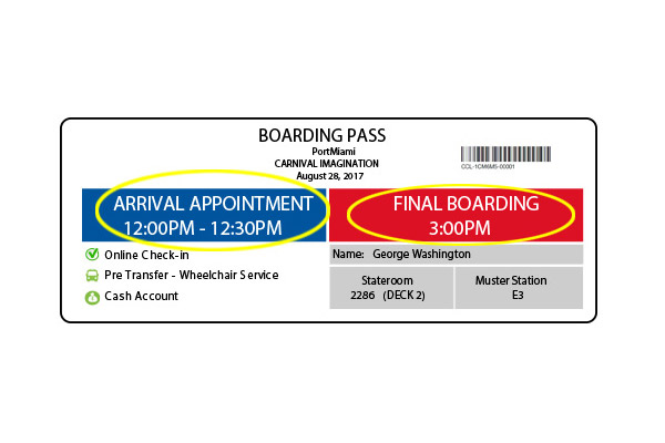 Carnival Introduces New Boarding Passes Cruise Industry News Cruise News