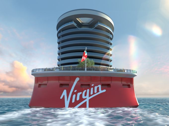 Virgin Ship Aft