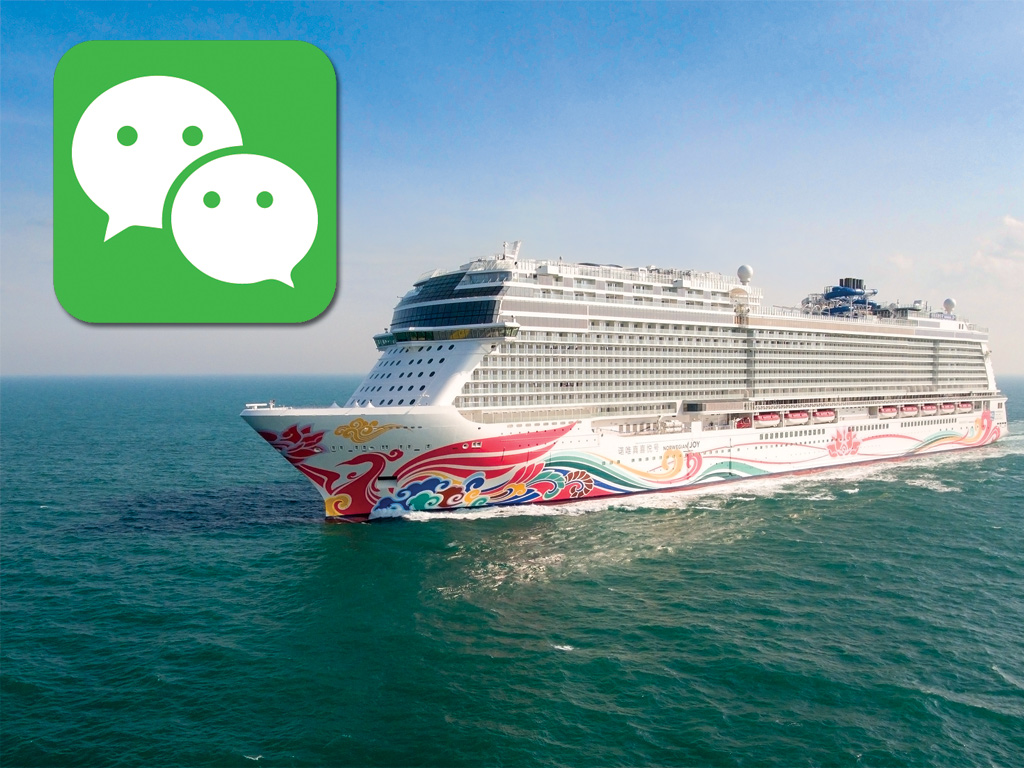 norwegian offers free wechat incentive for 2017 joy sailings