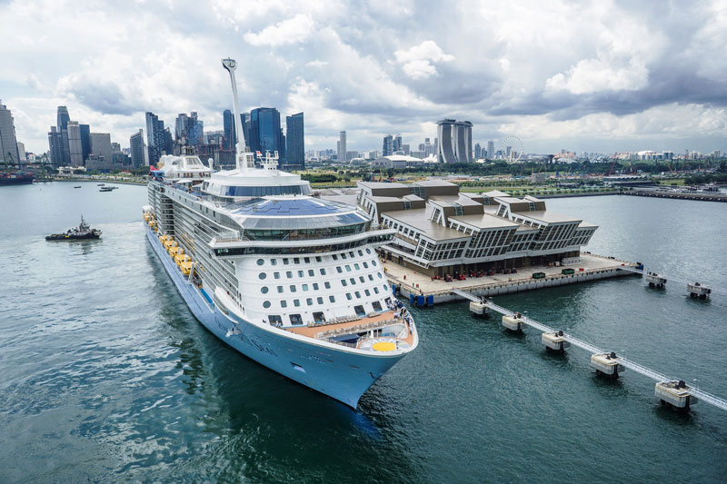Royal Caribbean Inks Fly-Cruise Deal with Singapore Tourism Board