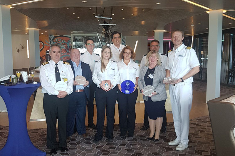 First Call Ceremony Welcoming the Mein Schiff 6 to Gibraltor