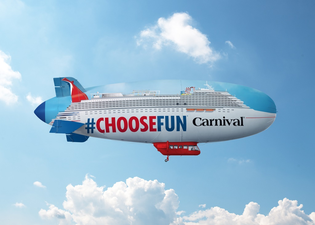 Carnival Launches Airship Marketing Campaign Cruise Industry News