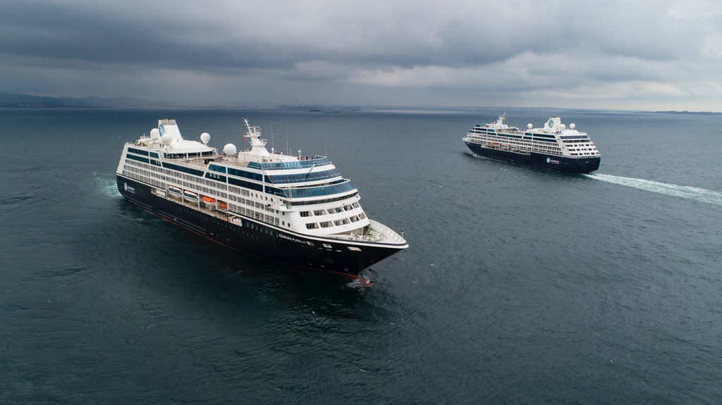 Azamara Pursuit and Journey Meet in Norway - Cruise Industry News