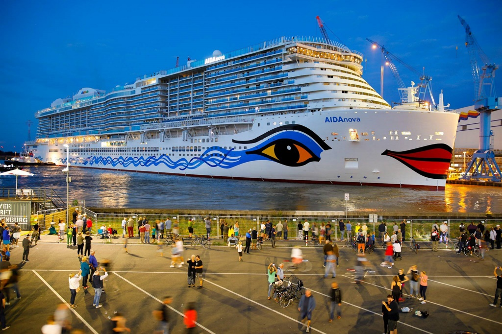 Aidanova Floats Out At Meyer Werft Cruise Industry News