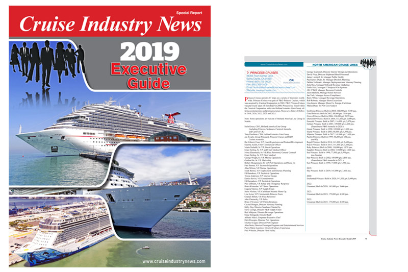 2019 Cruise Industry News Executive Guide