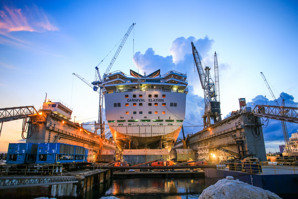 Major Drydock Projects Grow In Scale Cruise Industry