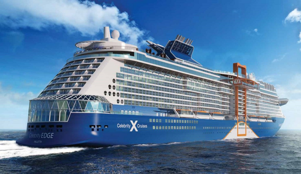 Celebrity Shows Off New Livery For Edge Cruise Industry