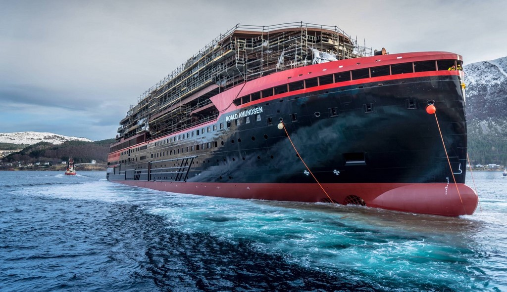 Roald Amundsen Delayed As Hurtigurten Cancels Inaugural Season - Cruise ship delayed