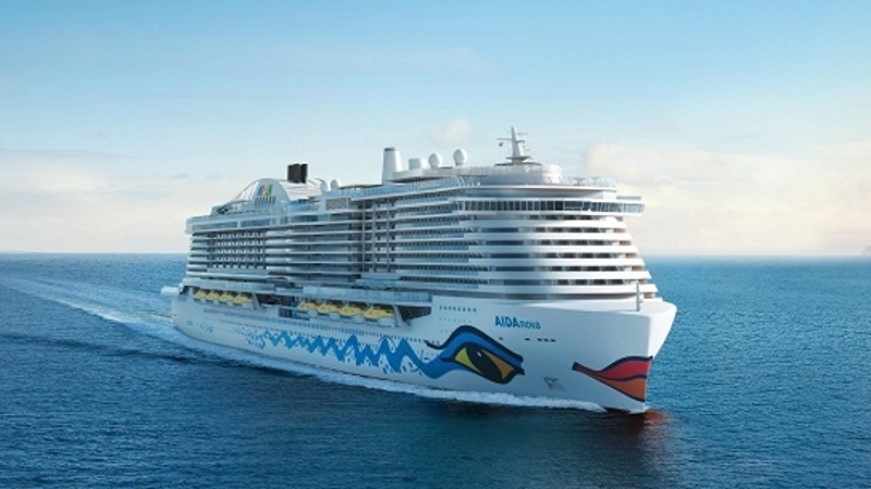 The AIDAnova will be the first cruise ship to sail on LNG.