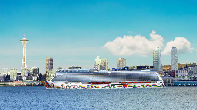 Norwegian Encore in Seattle