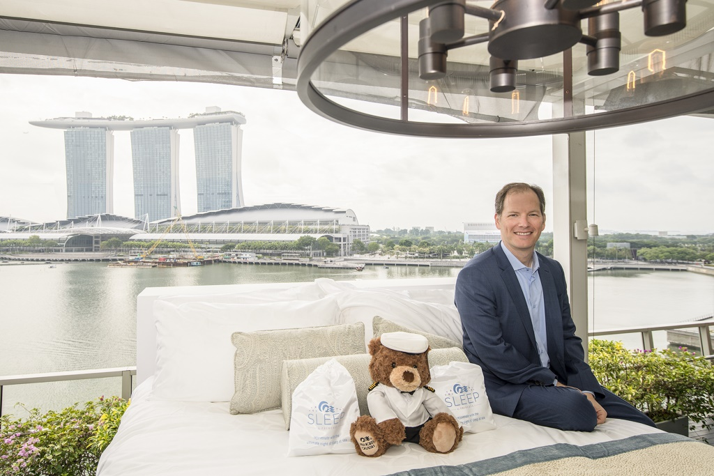 Princess Cruises Launches Luxury Bed in Singapore (cruiseindustrynews.com)