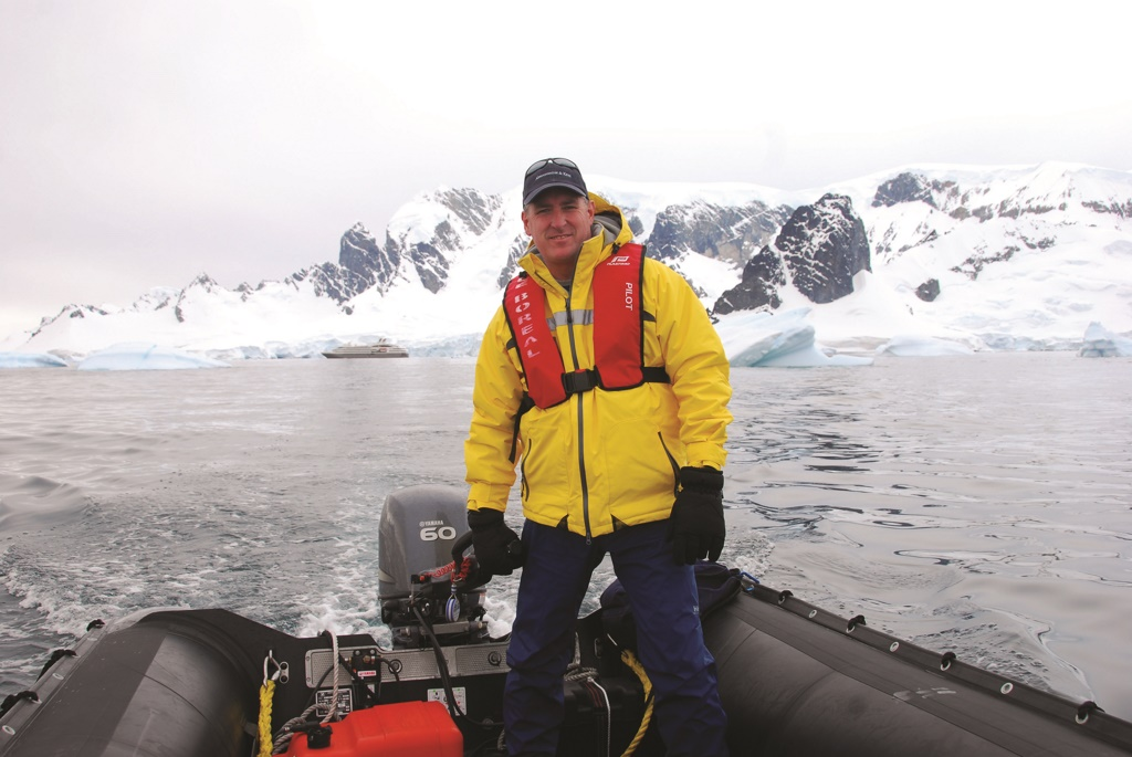 Bob Simpson, vice president of expedition cruising