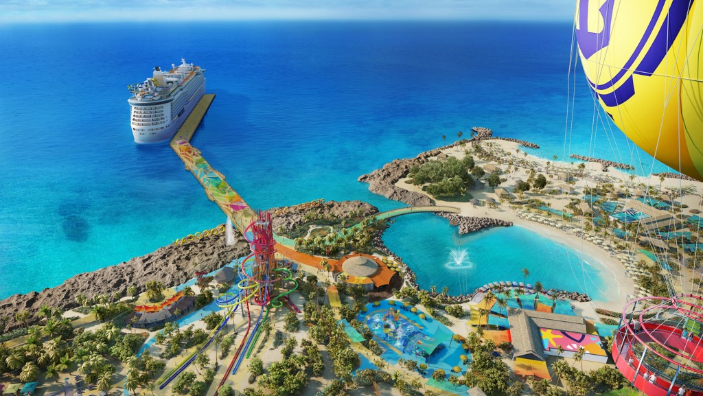 Royal Caribbean to Build Huge Waterpark at CocoCay - Cruise Industry