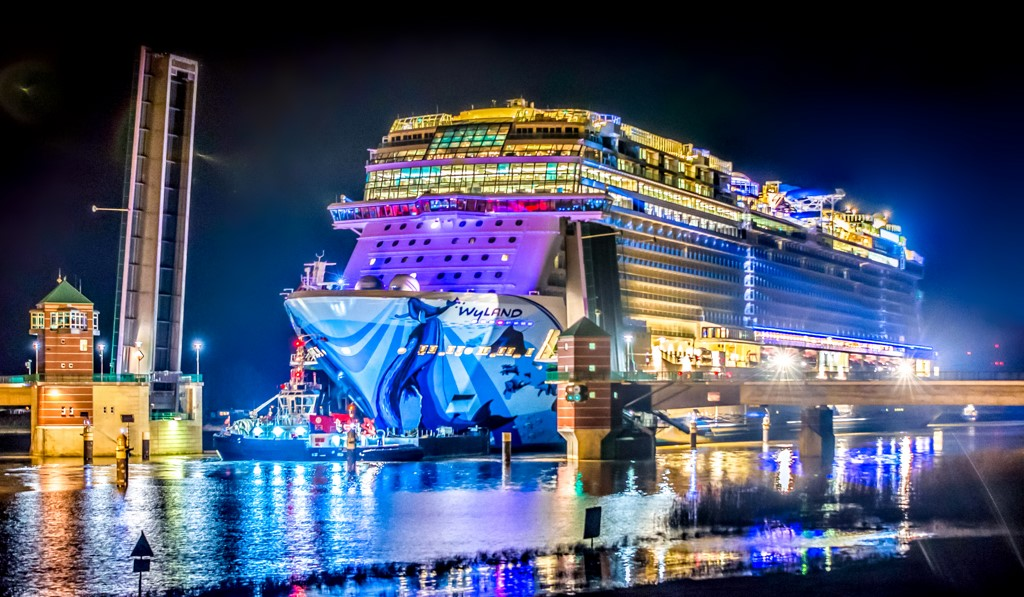 Quarterly Reports >> Norwegian Bliss Begins Conveyance - Cruise Industry News | Cruise News