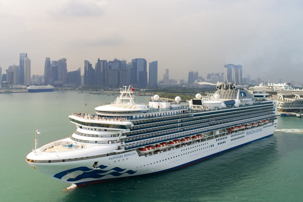 New Look Sapphire Princess Sails For Europe Cruise