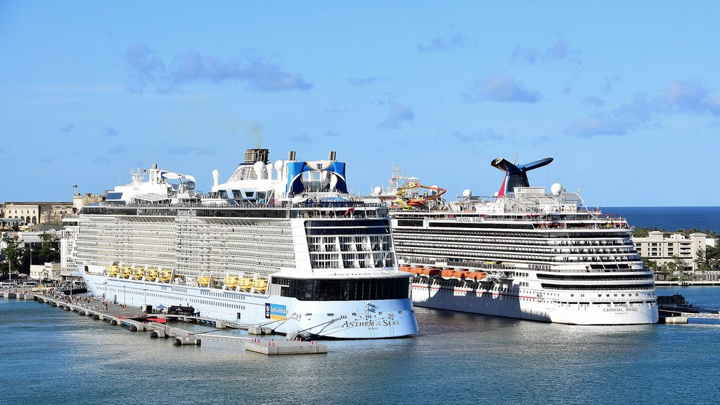 Anthem of the Seas and the Carnival Magic in Puerto Rico