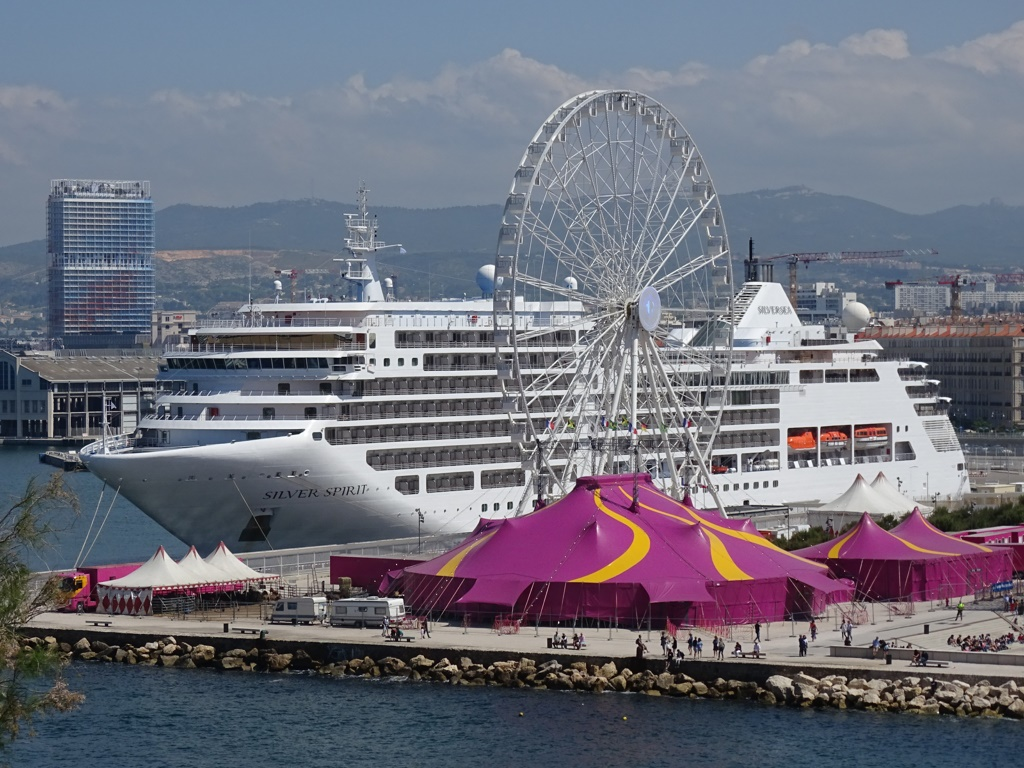 Photos Silver Spirit In Marseilles Cruise Industry News
