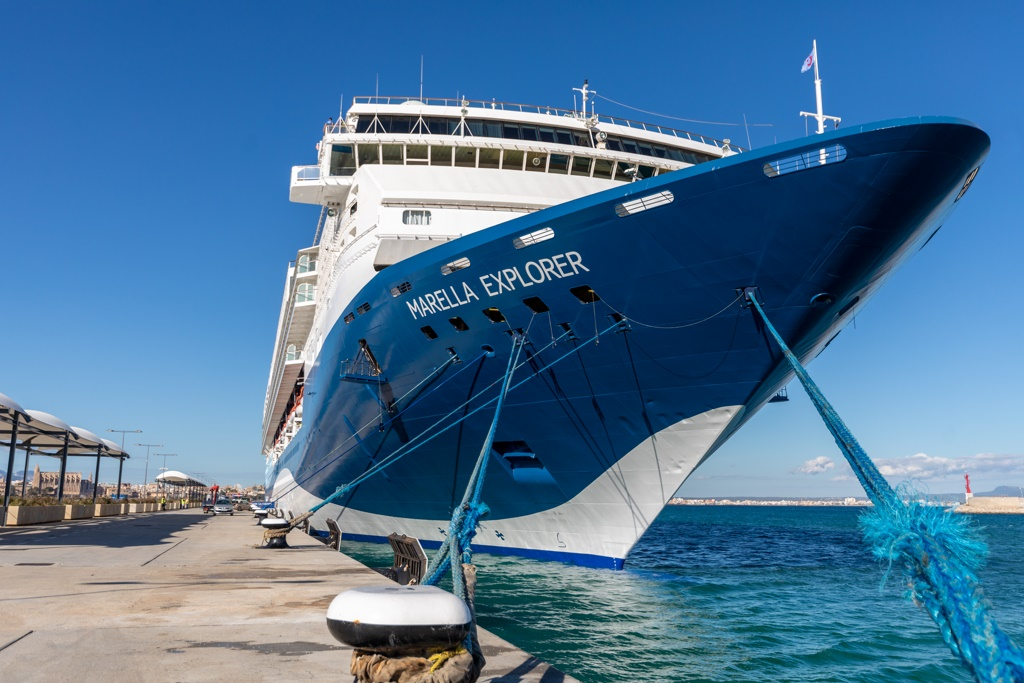 2018 Expedition Black >> New Marella Explorer Launched in Palma Ceremony - Cruise Industry News | Cruise News