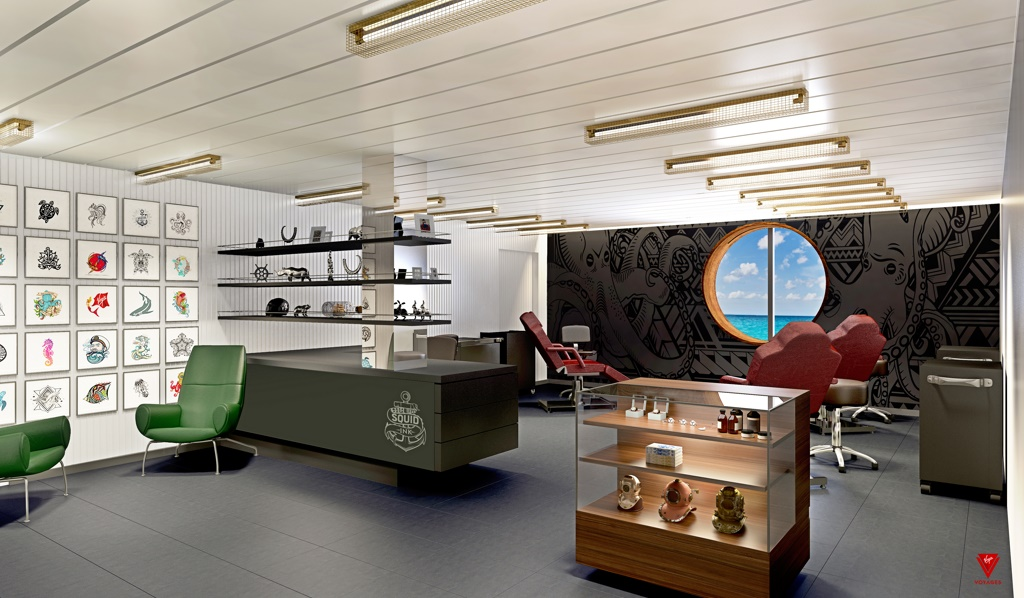 Virgin Voyages to Launch Tattoo Studio at Sea - Cruise Industry News ...