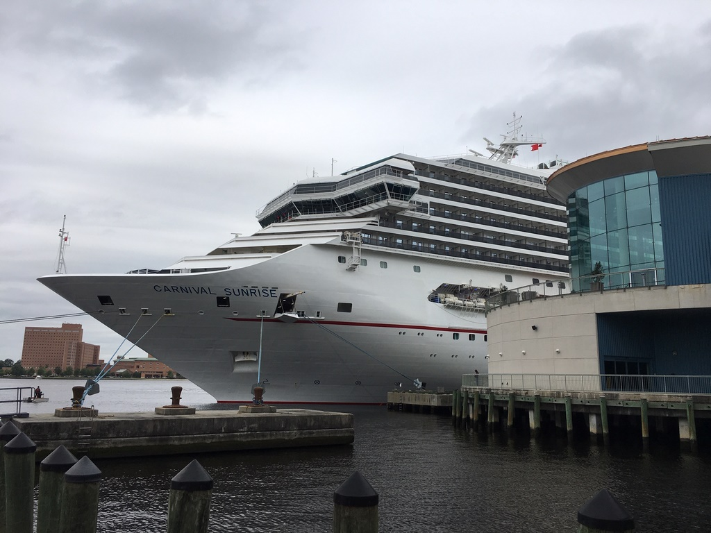 Carnival Sunrise Sails On Inaugural Voyage From Norfolk