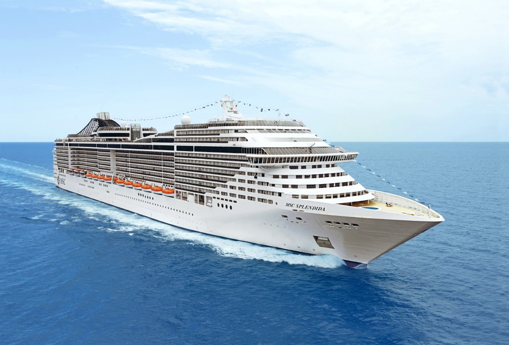 MSC Splendida Makes Maiden Call in India - Cruise Industry