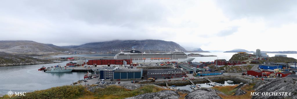 Historic Moment for MSC as Orchestra Calls in Greenland