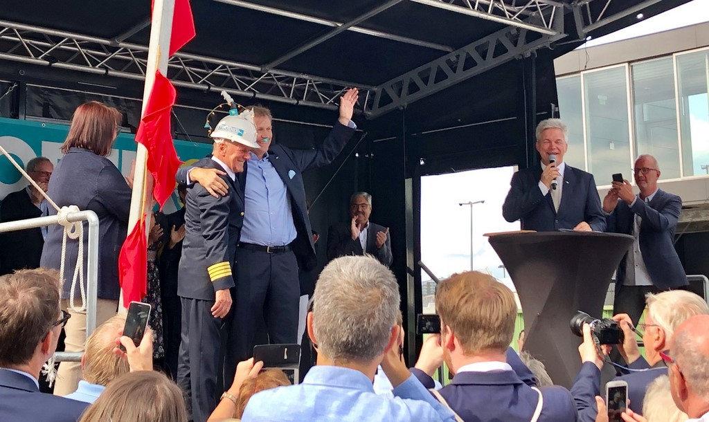 Amera Christened in Bremerhaven