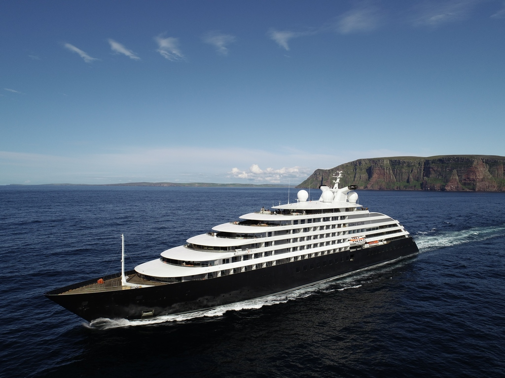 Scenic Eclipse Departs on Maiden Voyage