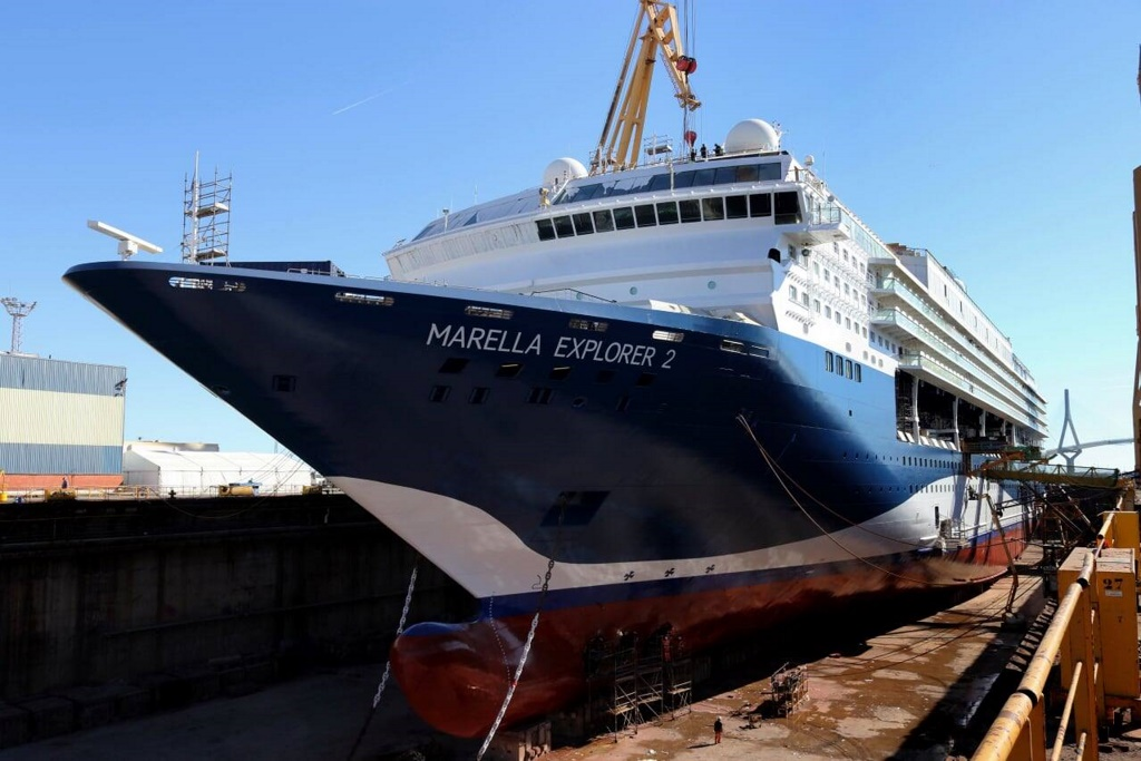 Marella Explorer 2 Begins To Take Shape In Cadiz Cruise