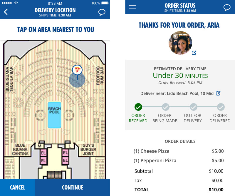 carnival expands hub app cruise industry news cruise news