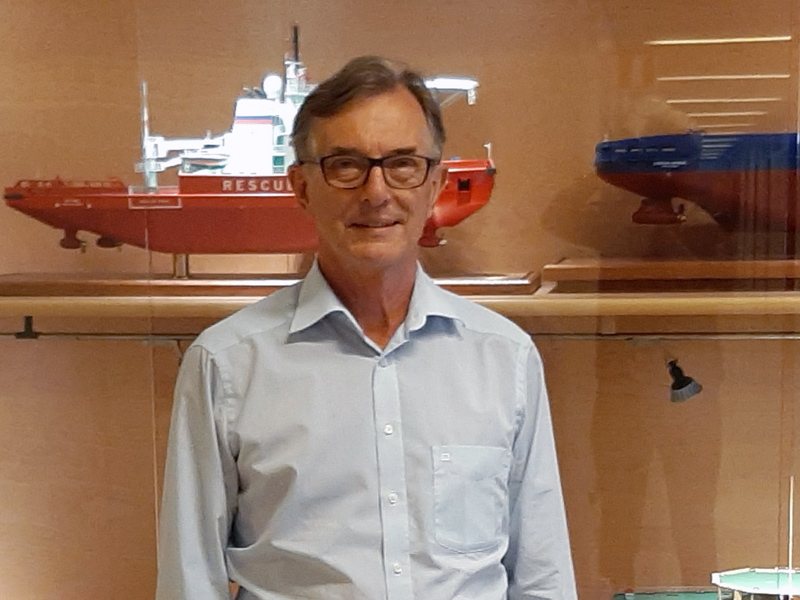 Carl-Gustaf Rotkirch, CEO of Helsinki Shipyard
