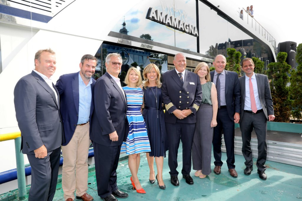 AmaWaterways Names Newest River Vessel: AmaMagna - Cruise Industry