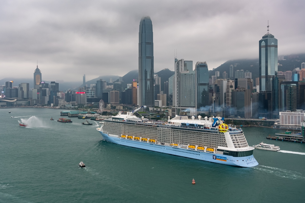 Spectrum Of The Seas Arrives In Hong Kong Cruise