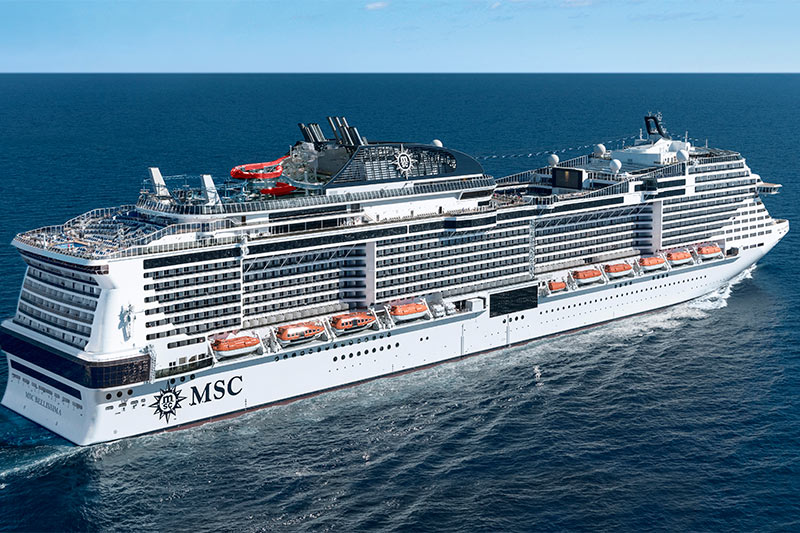 Global Cruise Ship Orderbook Opens June at 124 Ships, Over ...